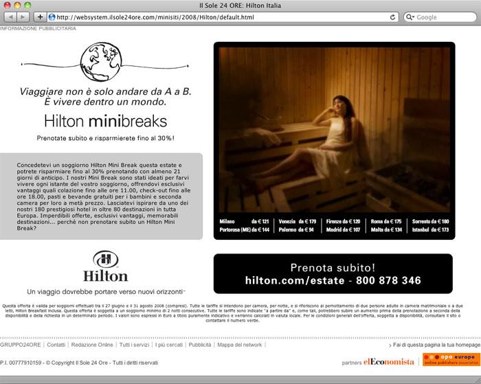 Hilton Minibreaks